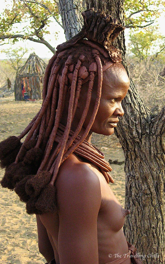 Himba tribe chief Namibia