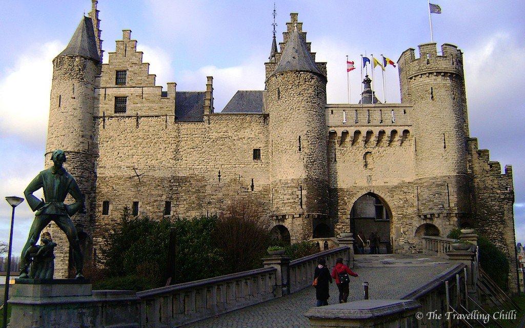Castle 'Het Steen' in Antwerp