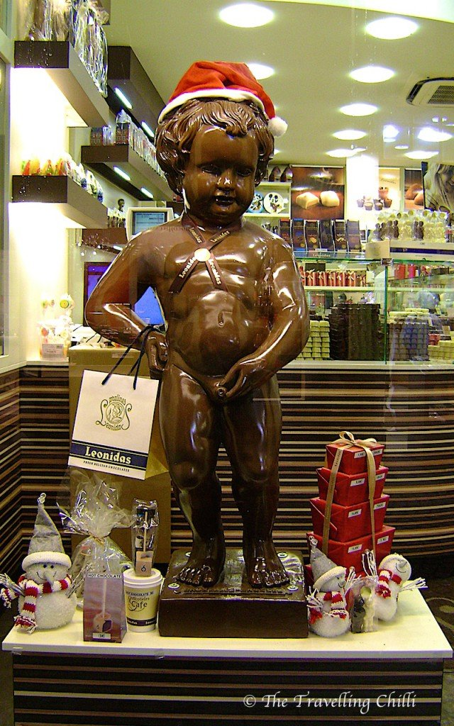 Manneke Pis Chocolate Brussels