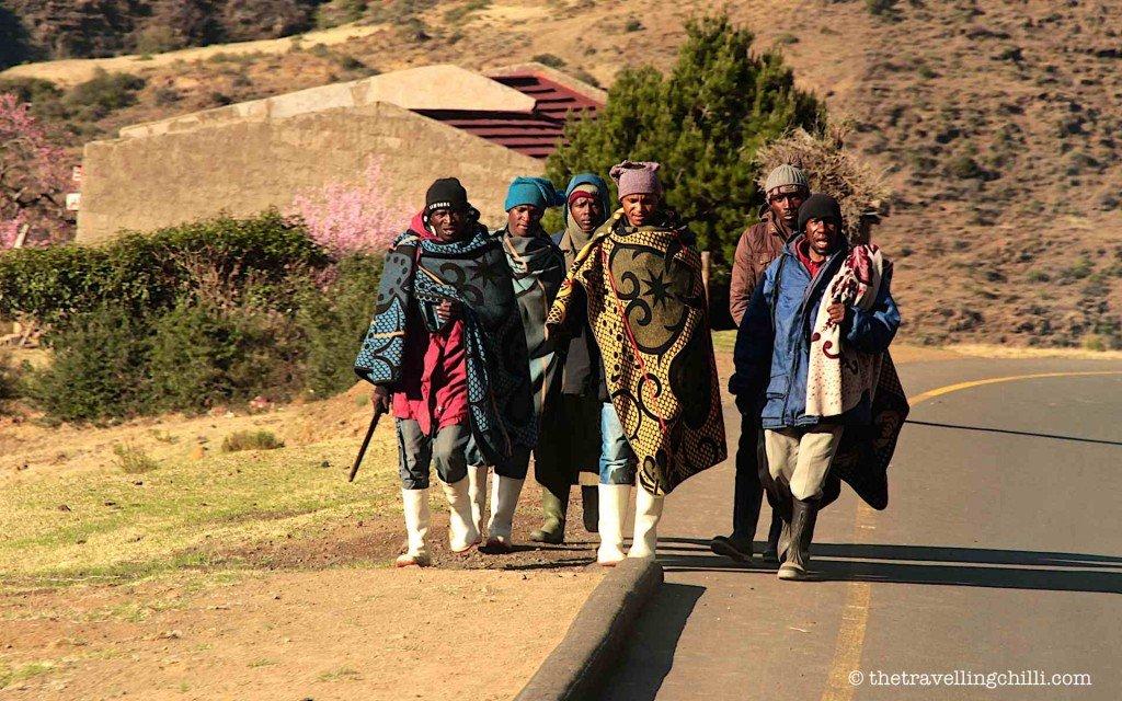 Blanket lesotho people basotho