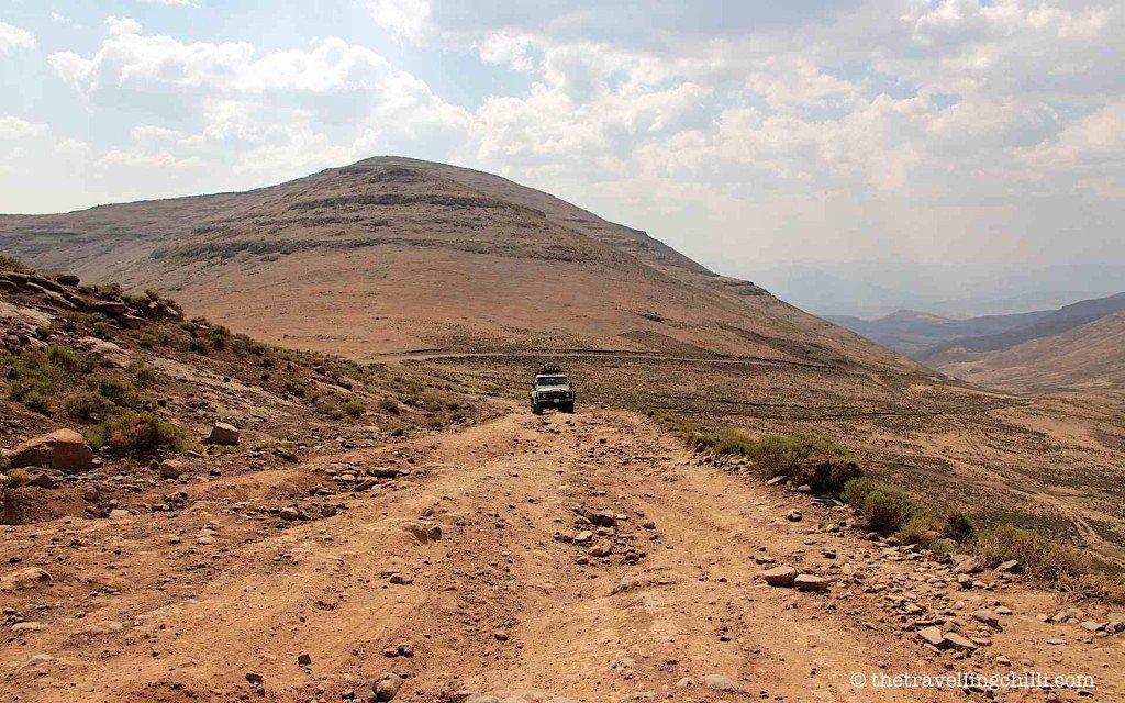 Off road landrover defender lesotho