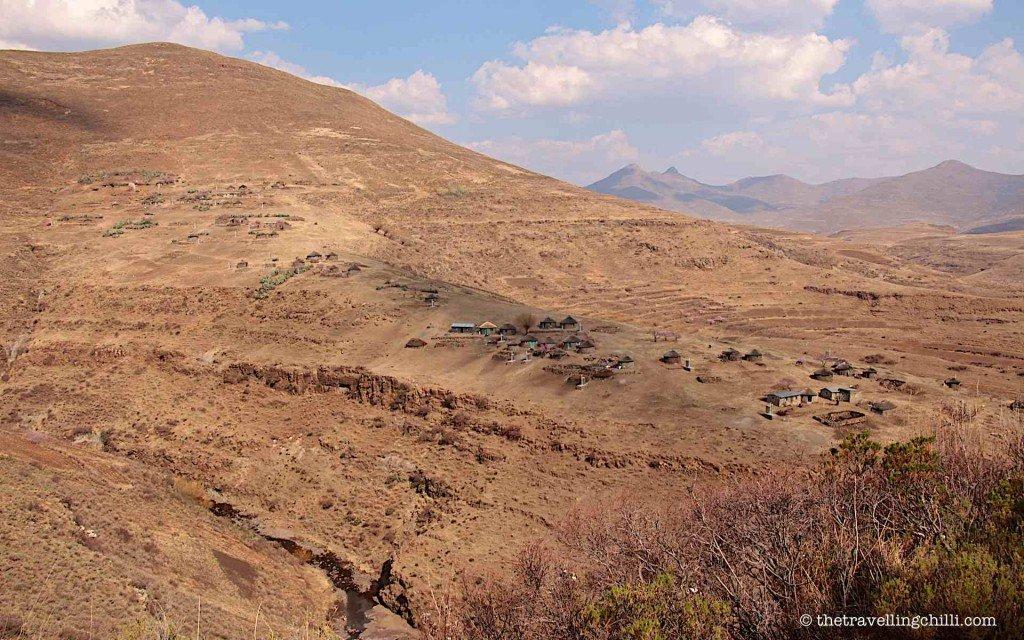 Village mountain lesotho