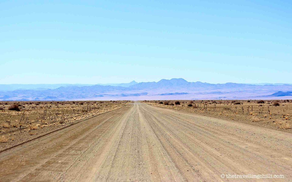 Vast landscape of southern Namibia