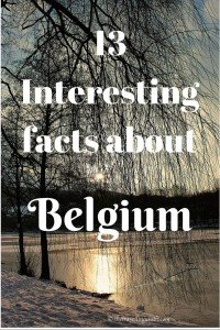 13 interesting facts Belgium