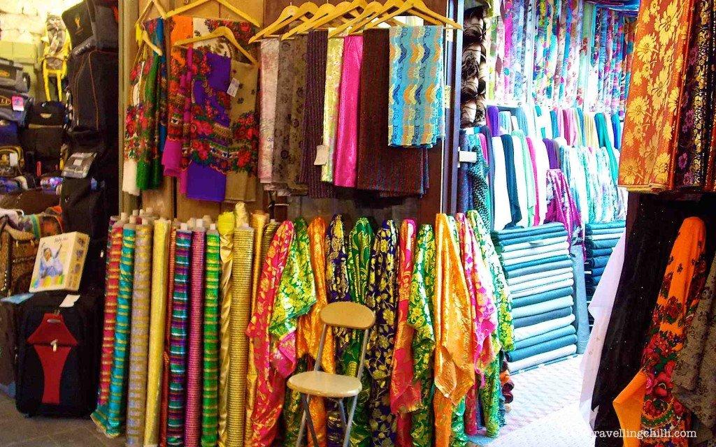 fabrics textiles souq waqif doha qatar