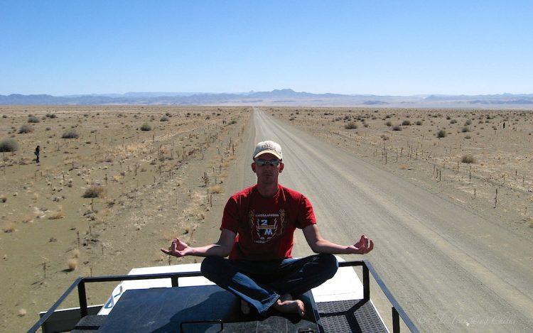 Road to Fish River Canyon namibia