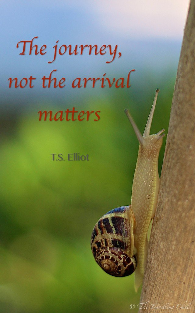 The journey not the arrival matters | travel quote | travel quotes | inspirational quote