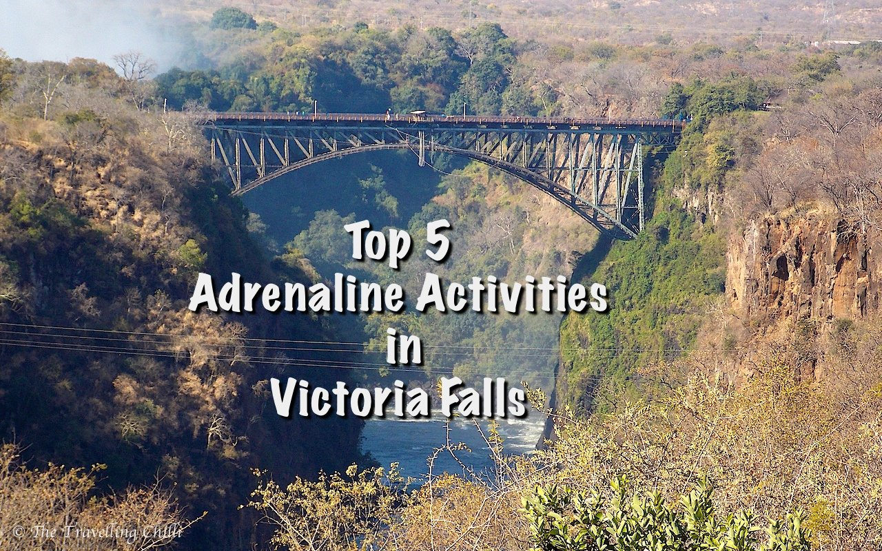 Top 5 Adrenaline Activities in Victoria Falls