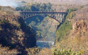 Victoria Falls Bridge Zimbabwe Bungee jump