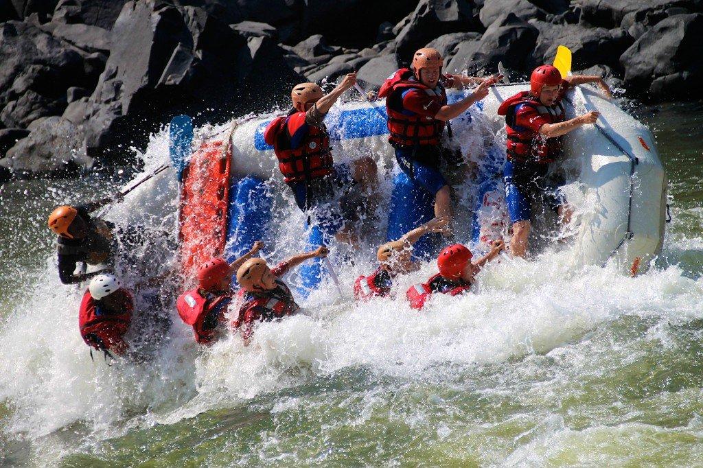 Victoria Falls rafting Zimbabwe