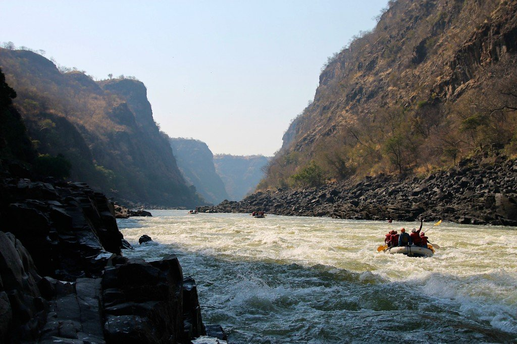 Victoria Falls rafting Batoka Gorge