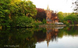 Castle Minnewater in Bruges
