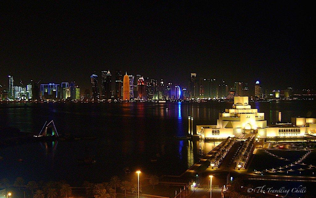 Night view Doha