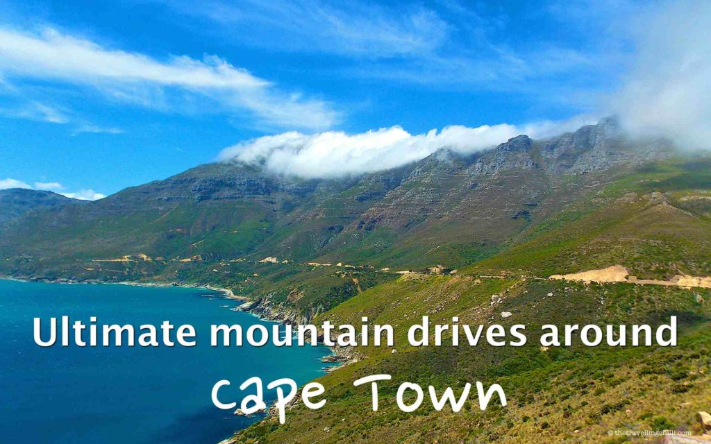 Mountain drives around Cape Town South Africa