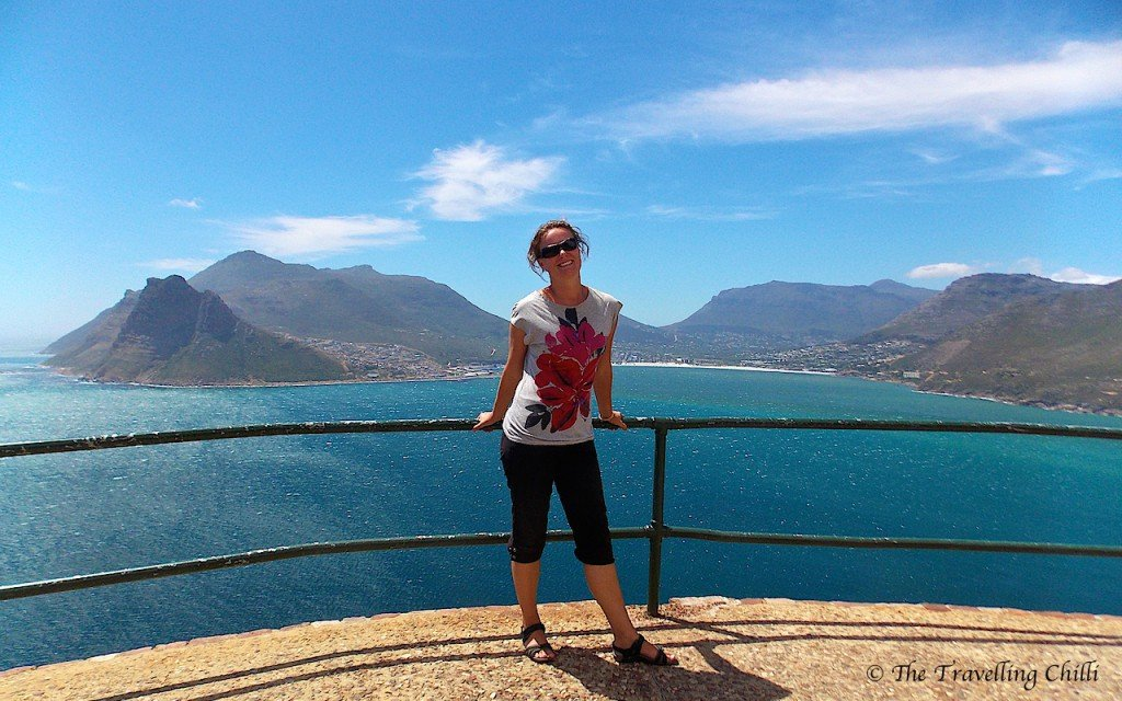 View on Hout Bay Chapman's Peak Drive Cape Town South Africa