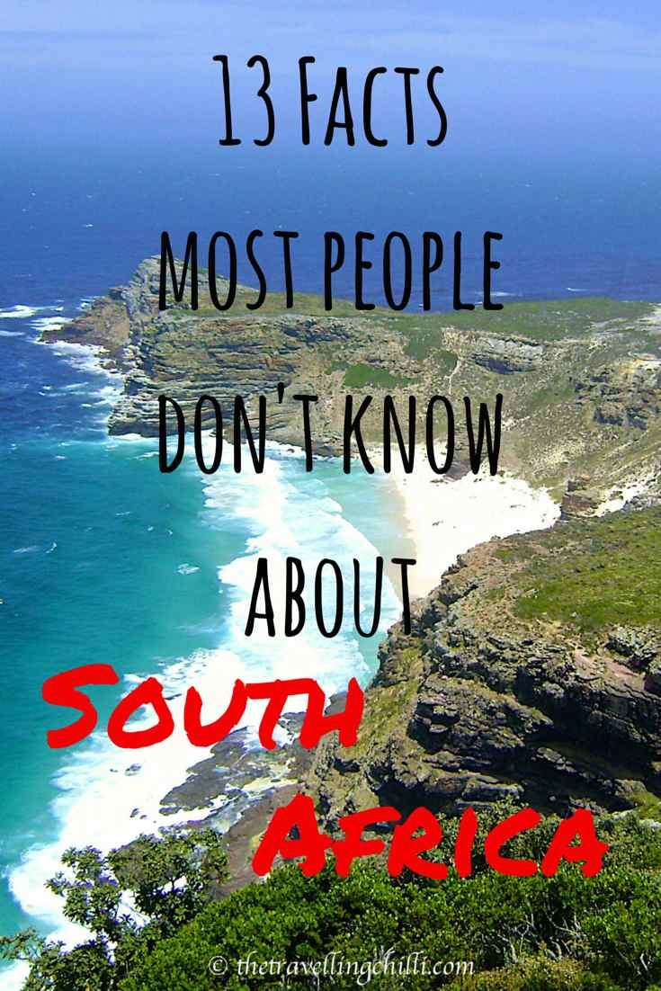 13 facts most people don't know about south africa