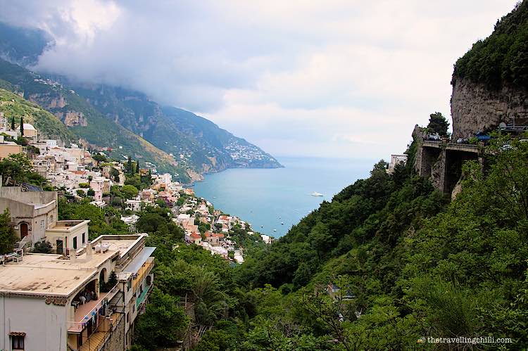 Positano Amalfi Coast romantic getaways in Europe