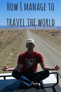 How I manage to travel the world