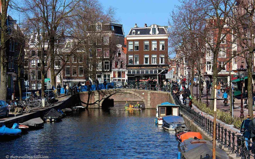 Amsterdam Netherlands canals