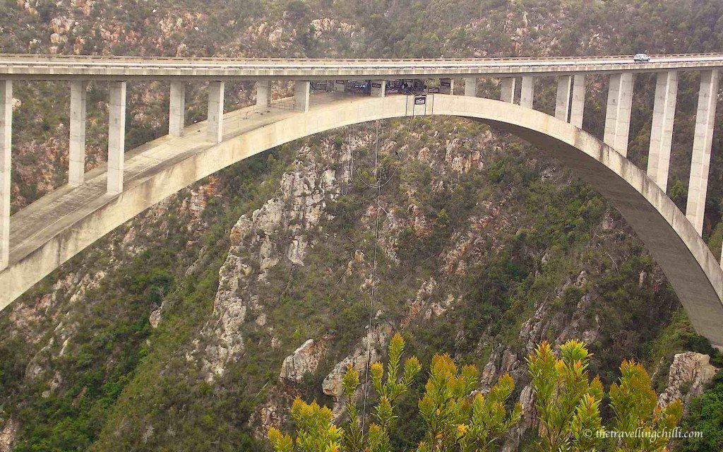 South Africa Bloukrans bungee jump
