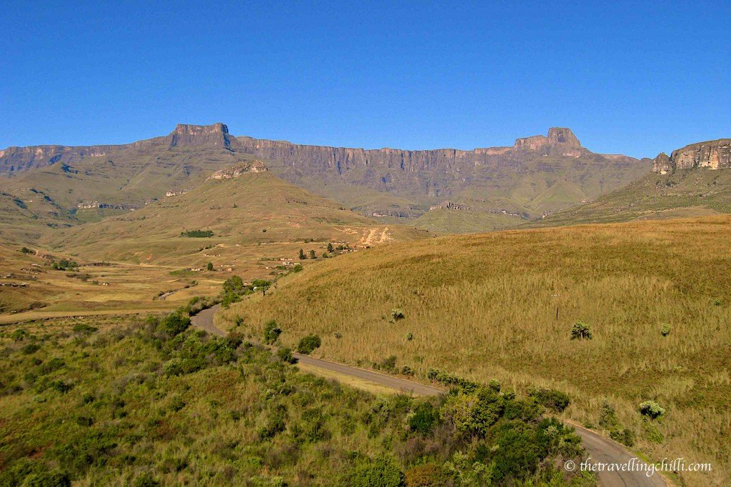 Tugela Falls second highest waterfall in the world Drakensberg South Africa