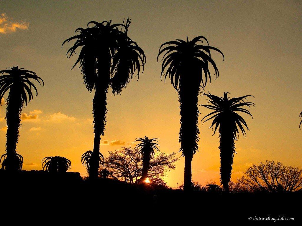 African sunset zimbabwe masvingo ruins