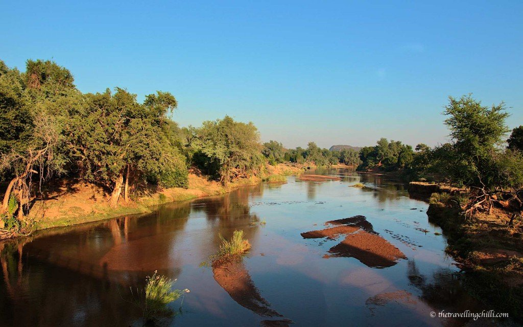 Luvuvhu river kruger south africa pafuri