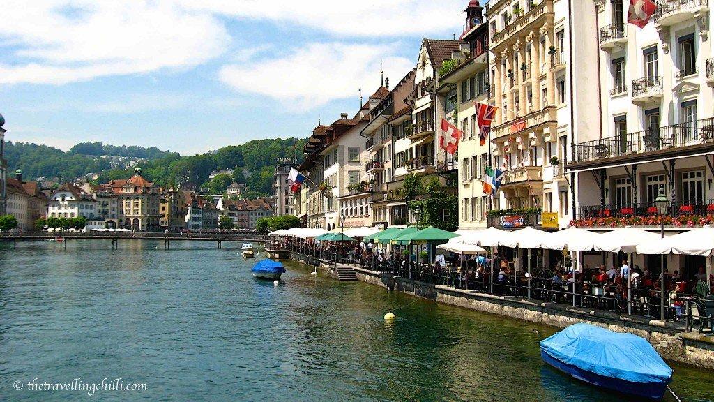 Lucerne city switzerland