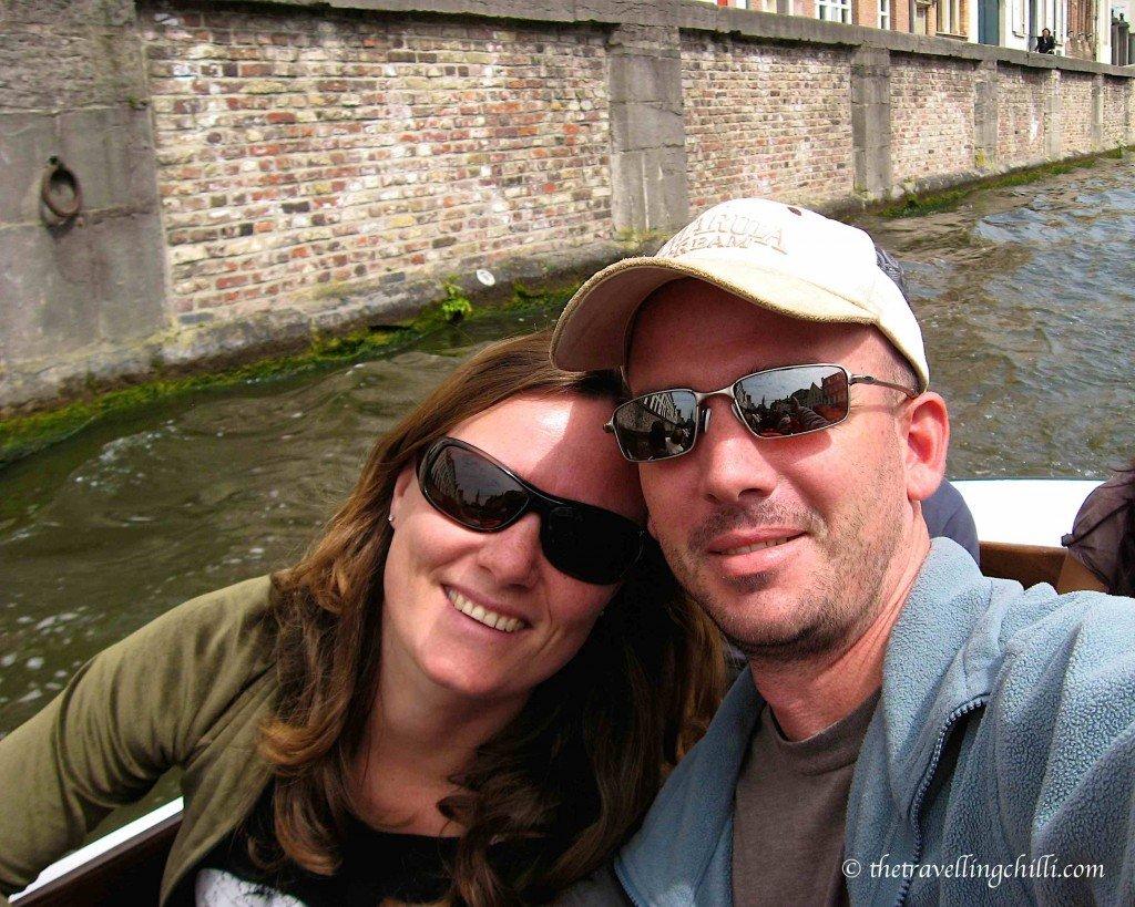 Sean Sabine Bruges Belgium boat tour
