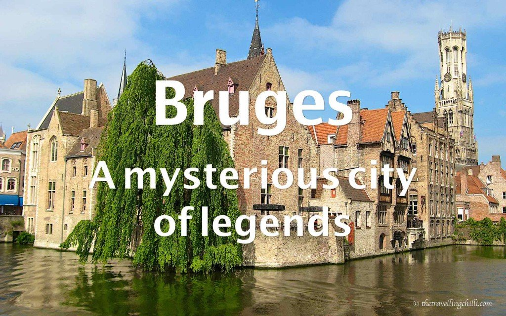 Bruges mysterious city legends belgium
