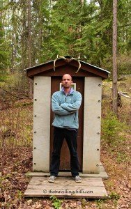 canada toilet outhouse
