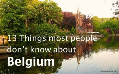 13 Things most people don't know about Belgium