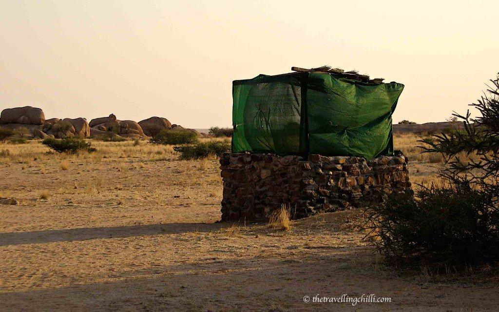 namibia spitzkoppe toilet