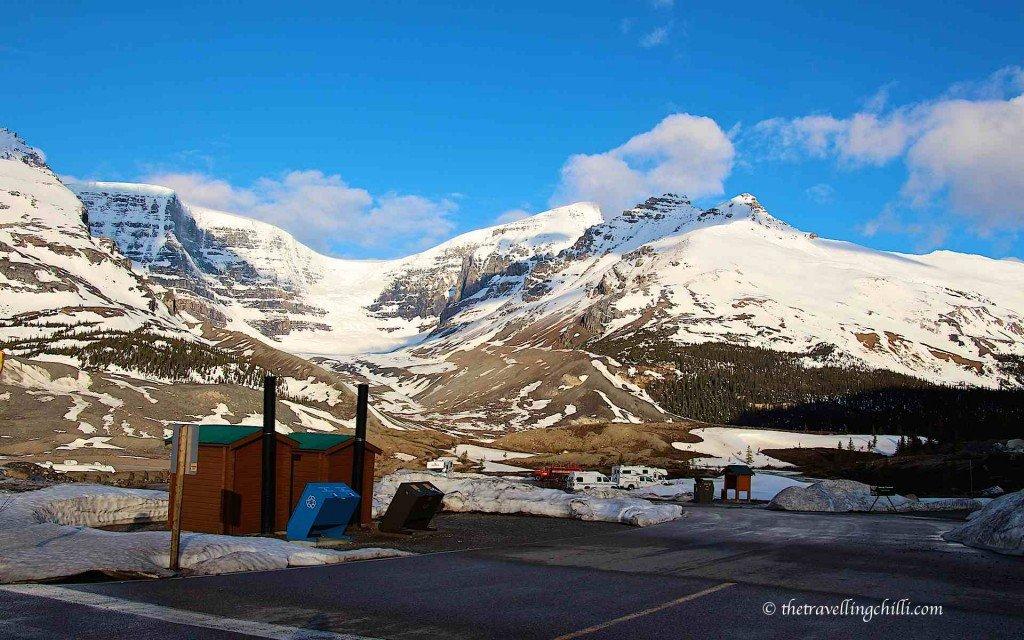Toilet canada athabasca glacier