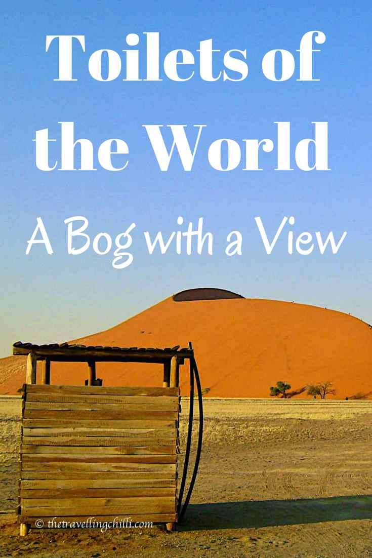 Toilets of the world - a bog with a view | world toilets | humour | humor