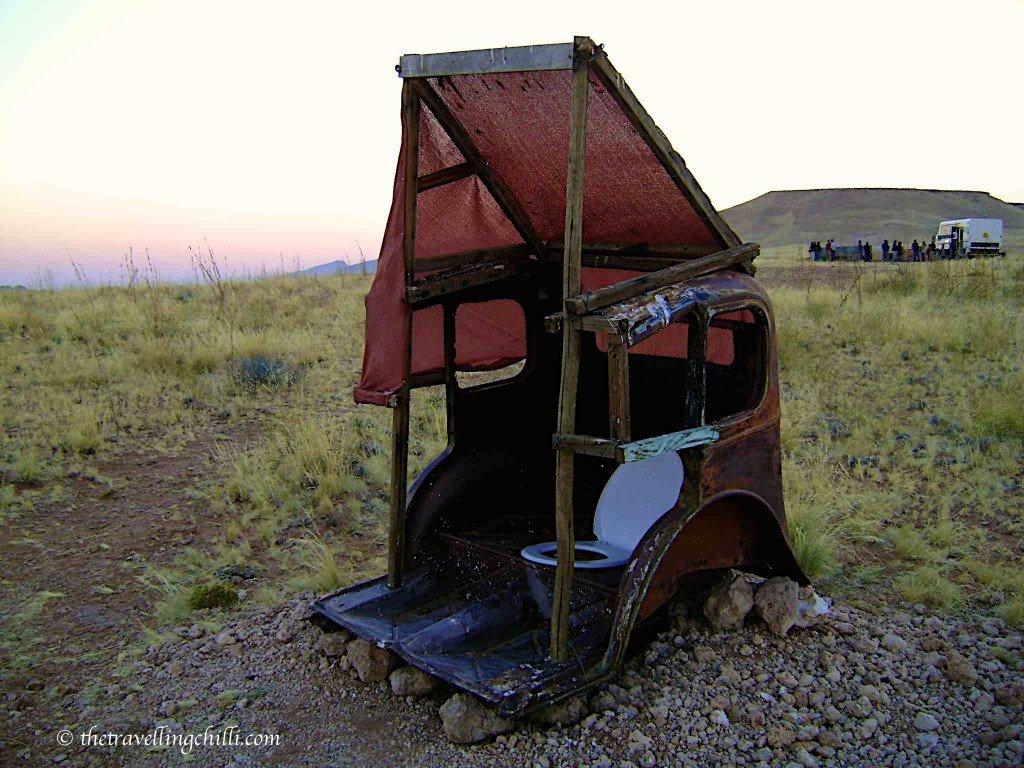 Yuri camp toilet namibia camping