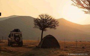 camping katse dam lesotho