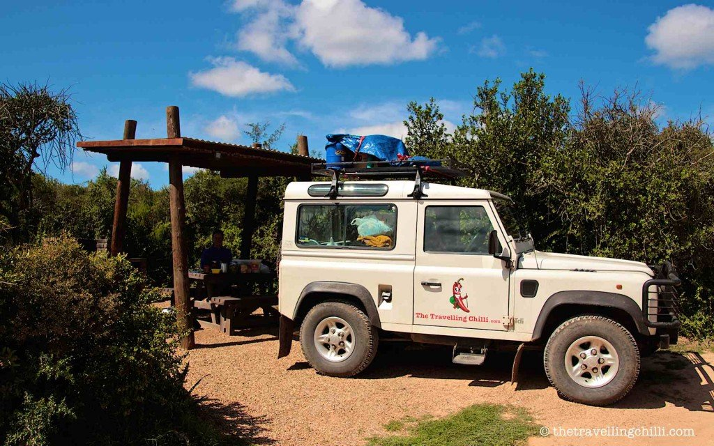 addo elephant park sanparks picnic spot