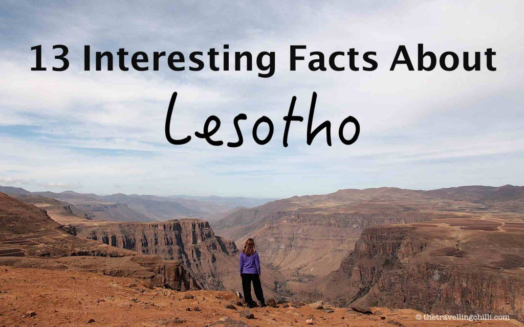13 interesting facts about Lesotho mountains