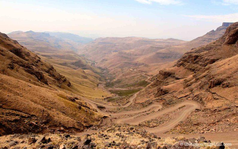 Sani pass south africa lesotho landrover landy defender