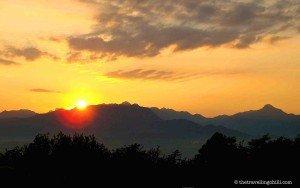 lesotho sunrise malealea