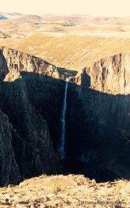 Waterfall lesotho maletsunyane