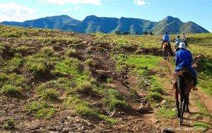 lesotho malealea horse riding