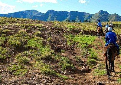 Scenic horse riding