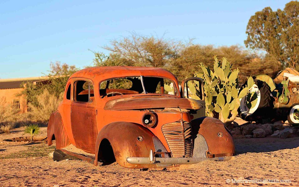namibia car solitaire vintage highlights
