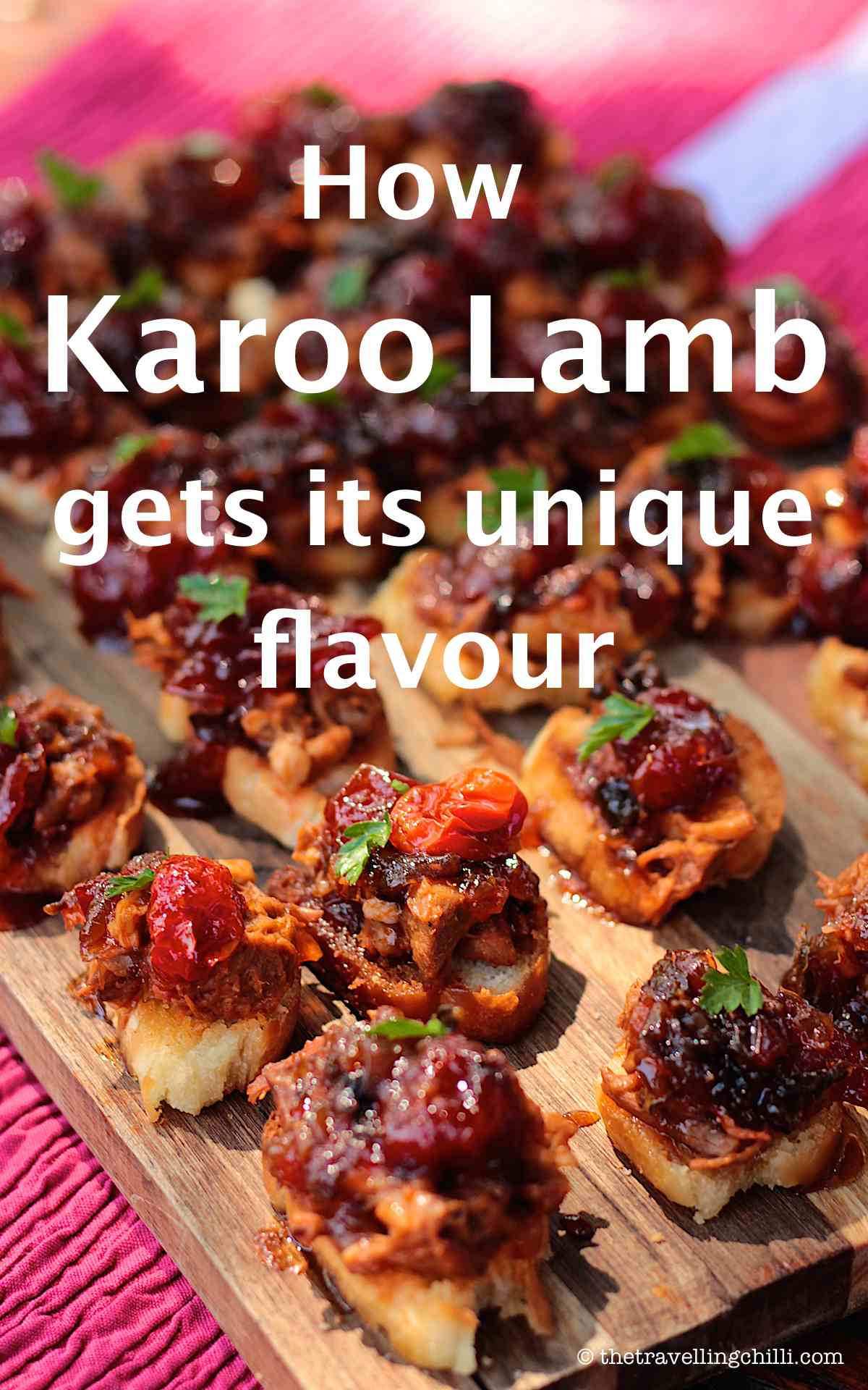 How karoo lamb gets its unique flavour flavor south africa