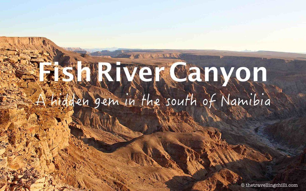 namibia fish river canyon africa