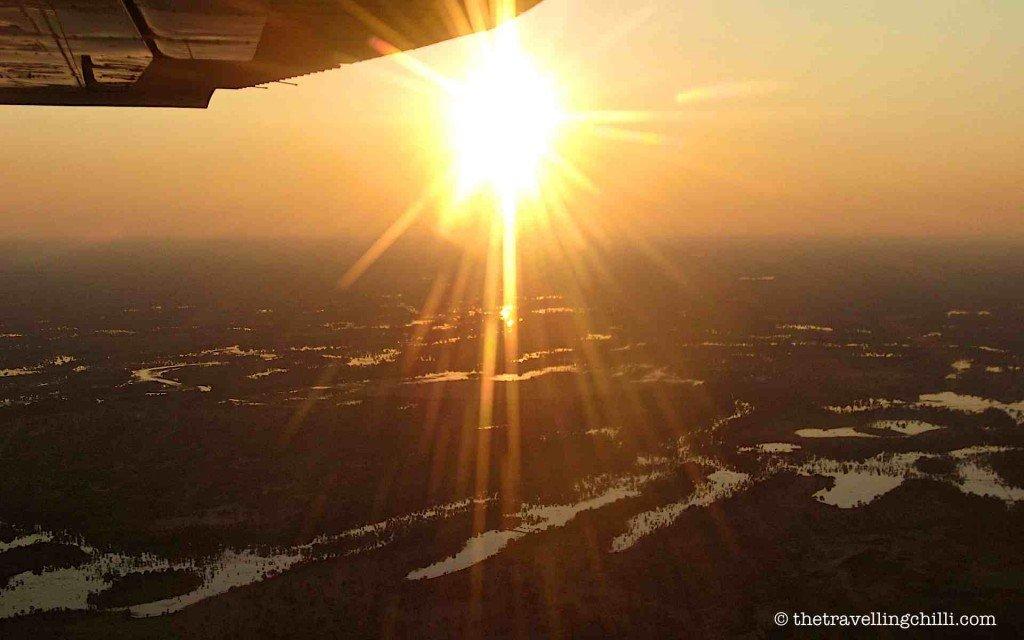 botswana delta sunrise okavango africa natural wonders
