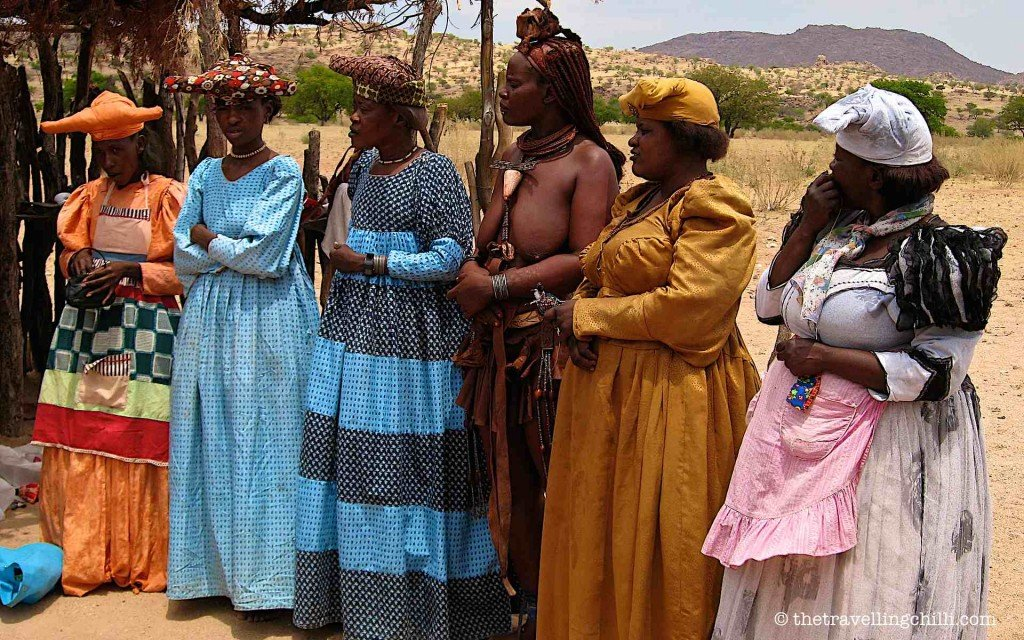 namibia herero himba