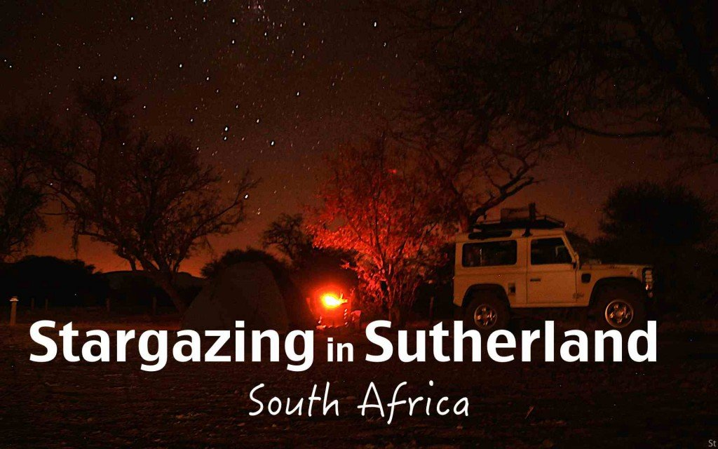 Stargazing in Sutherland South Africa | Stargazing Sutherland Northern Cape | Sutherland stargazing | Sterland Sutherland